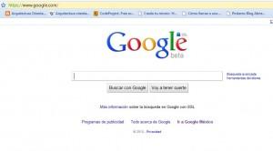 apariencia google ssl